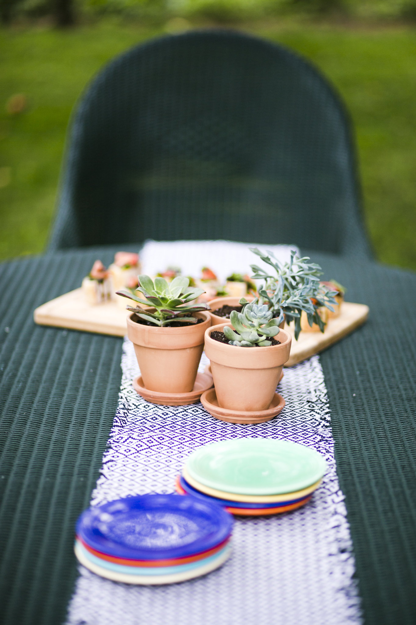Effortless Backyard Dinner Party