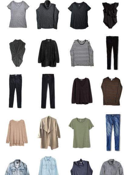 My Fall Capsule Wardrobe
