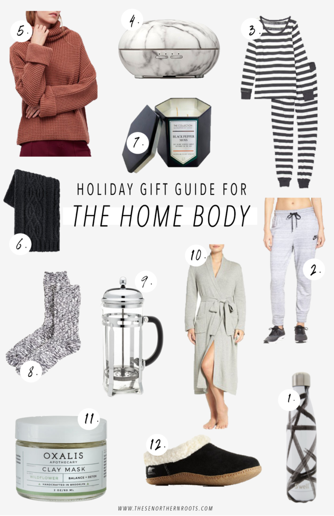 Holiday Gift Guide // For the Home Body