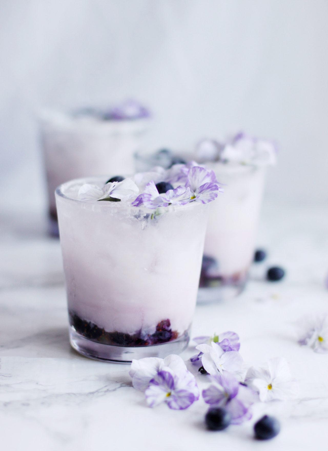 Tropical Blueberry Smash