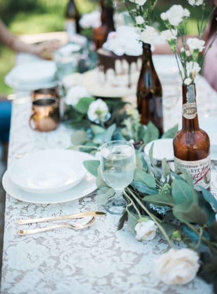 Vintage Summer Tablescape with Reprize Designs